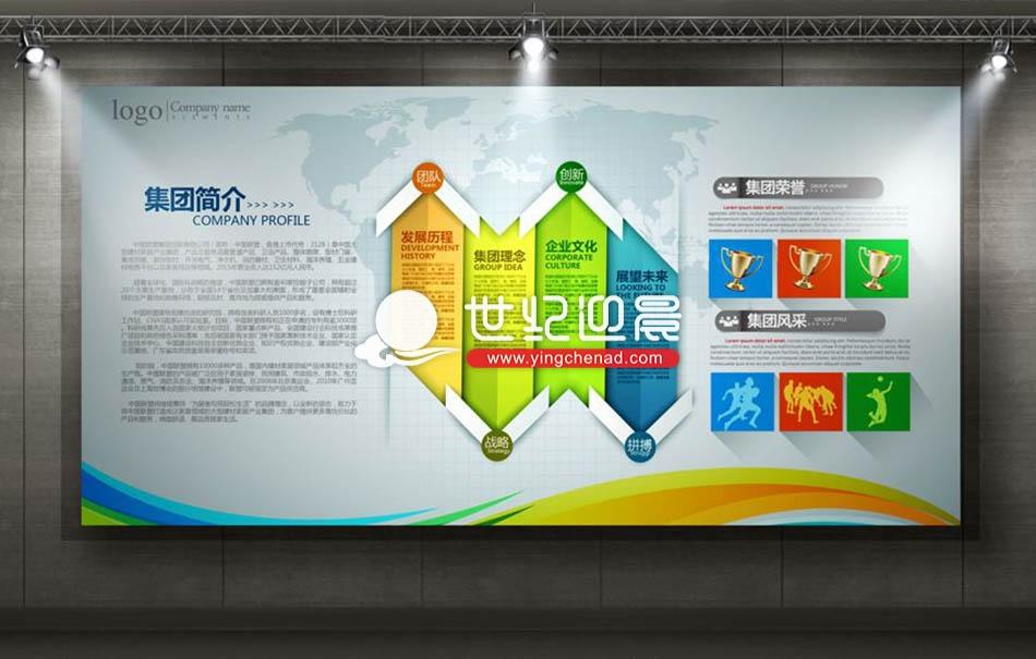 企业展板设计,文化展板设计