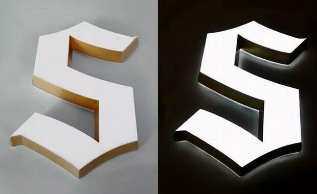 常见的五种LED迷你发光字